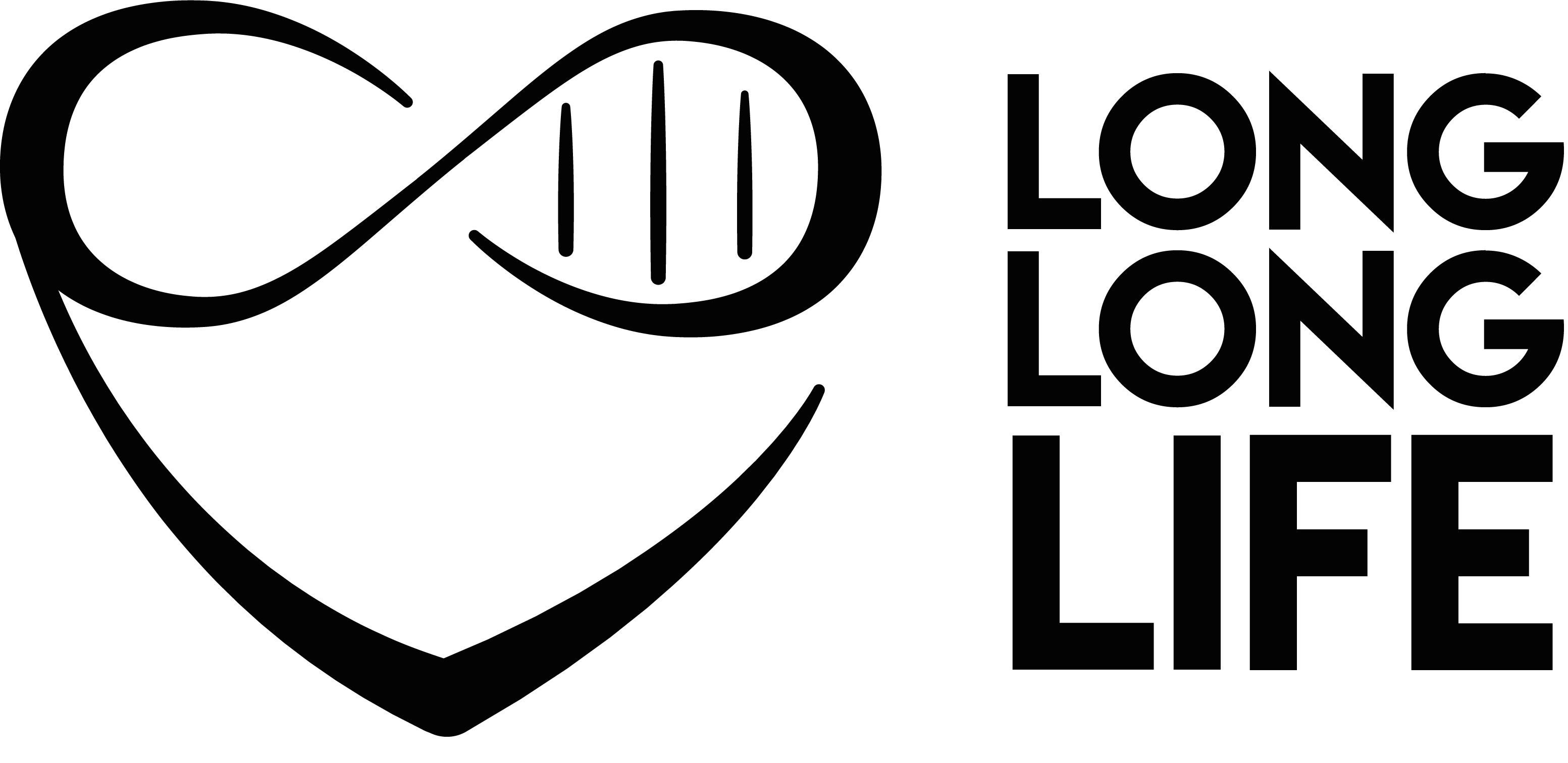 logo long long life longevity transhumanism anti aging